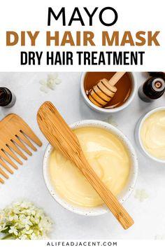 Mayo Hair Mask – DIY Dry Hair Treatment