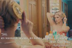 Stil; en karmaşık şeyleri, en kolay yoldan anlamaktır. #JeanCocteau ByMaritsa.com #vintage #retro #moda #giyim #kadıngiyim #kadınmoda #kadın #vintagegiyim #retrogiyim #bymaritsa #eticaret #onlinealışveriş #elbise #kıyafet #gözlük #ayakkabı