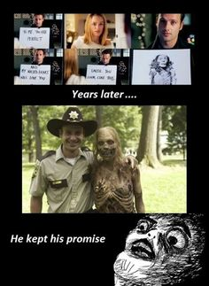 walking dead // love actually  LOL
