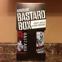 STONE BREWING - ARROGANT BASTARD - BASTARD BOX