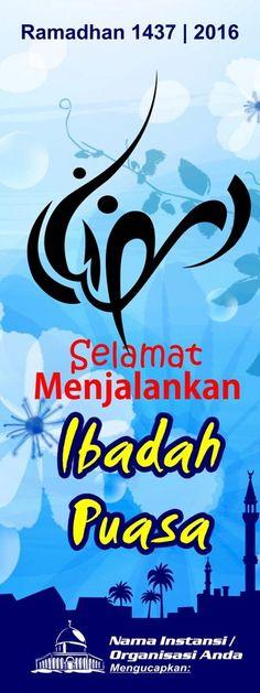 Contoh Spanduk Ramadhan : contoh, spanduk, ramadhan, Spanduk, Banner, Ramadhan, Ideas, Ramadhan,, Banner,, Ramadan