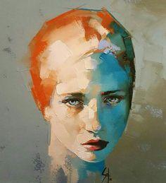 Eyes, paint