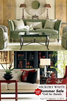Last day to save on Hickory White furniture! Call us for more info: 800-205-7819