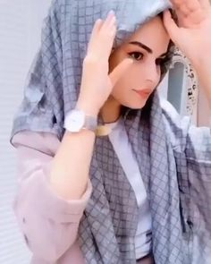 Hijab Turban Style, Mode Turban, Hijab Style Dress, Hijab Outfit, Niqab Fashion, Modest Fashion Hijab, Street Hijab Fashion, Muslim Fashion, Simple Hijab Tutorial