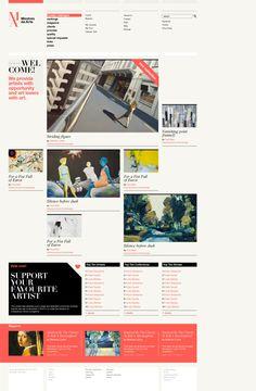 Mestres da Arte by ale román, via Behance