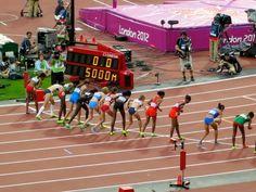 Women's 5000m start
