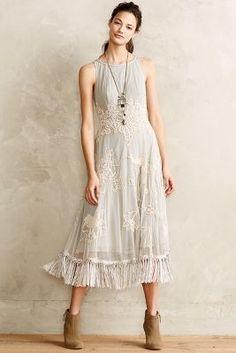 Winter Solstice Dress #anthroregistry