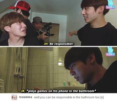 (Are they really filmed in the bathroom?!)