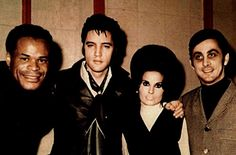 Elvis with ROY Hamilton & George Klein & his future wife. ELVIS MEMPHIS SESSIONS 1969 ~ Elvis lost his voice. He had bad laryngitis, during his marathon recording session at American Studio early in 1969. He was really pumped about recording in his hometown. But three days into the recording session, Elvis came down with a terrible case of laryngitis that turned into tonsillitis with a fever. Elvis was best man at George's wedding December 5, 1970.