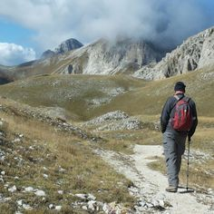 Greay walk through Abruzzo Italy! Hiking, Camping, Italy, Mountains, Nature, Travel, Chalets, Walks, Campsite