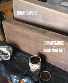 Briarsmoke Wood Stain Comparison