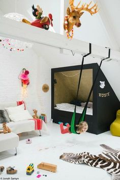 The Best of Kids Play Spaces - The Effortless Chic Girl Room, Girls Bedroom, Baby Room, Child Room, Bedroom Ideas, Kids Corner, Kids Play Spaces, Kids Room Design, Playroom Design