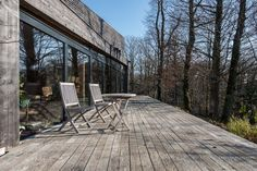 Maison d'architecte passive dans les bois à vendre le Mesnil Saint Denis