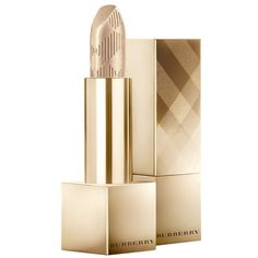 Burberry Kisses - Festive Gold No.120 ($33) ❤ liked on Polyvore featuring beauty products and makeup