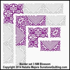 Border set 3 NM Blossom (400x400)