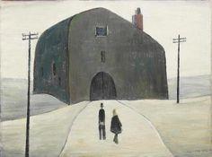 LS Lowry's A House offered in British and Irish art auction Irish Art, English Artists, Painting Still Life, Art Auction, Art And Architecture, Van Gogh, Mixed Media Art, Oil On Canvas, Folk Art
