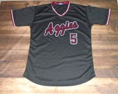 Aggies Baseball designed this custom jersey and High-5 Sports in Allen, TX created it for the team! http://www.garbathletics.com/blog/aggies-baseball-custom-jersey/ Create your own custom uniforms at www.garbathletics.com!