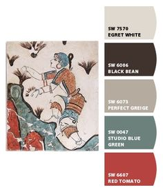 """Sherwin Williams """"Chip It"""" Color Palette"""