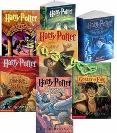 Harry Potter series....resisted these for a long time, then started reading and fell under the spell...