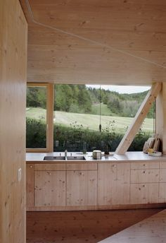 Sweet Home bei Pascal Flammer, Architekt ©Rita Palanikumar – Bea Bärchen Arch Interior, Interior Architecture, Interior And Exterior, Interior Design, Ideas Cabaña, Sweet Home, Minimalist Kitchen, Minimalist Style, Wooden House