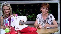 Tornazsák varrás a DunaTV Családbarát műsorában Majoros Zsuzsával