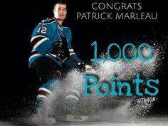 Marleau scores his career point Patrick Marleau, Shark Bites, San Jose Sharks, Scores, Nhl, Hockey, Career, Boys, Movie Posters
