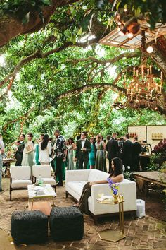 A Greenery-Filled Hawaiian Wedding in a Historic Sugar Mill Wedding Decorations, Table Decorations, Lesbian Wedding, Beautiful Couple, Celebrity Weddings, Hawaiian, Greenery, Bride, Celebrities