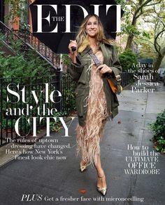 The Edit Magazine  November 17, 2016 -  Sarah Jessica Parker -  Pamela Hanson