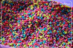 RAINBOW Letter Pasta for Sensory Bin !!!!!! Can't believe I didn't think of this-- if you can do it with rice, why not ABC macaroni??? LOVE this <3