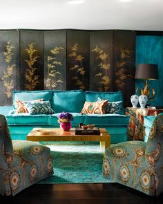 """""The best interiors make your heart pound."" -Tony Fornabaio | Photo: @simonuptonpics, Design: Philip Vergeylen of @nicholashaslamltd"""