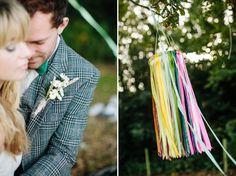 Autumn Wedding Inspiration ~ A Romantic Field Picnic, Rustic Barn, Bow Ties and Tweed | Love My Dress® UK Wedding Blog