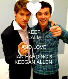 Ian Harding and Keegan Allen <3