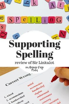 A review of the app Sir Linkalot that supports learning to spell especially those that are struggling with the use of stories, and mnemonics.