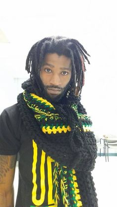 This Handmade Crocheted Jamaican Colored Infinity Scarf is a must have it can wrap 1 to 4 times and has an invisible pocket and a hood. It is beautifully designed in any color you want with the best material. My special crochet techniques make my infinity scarf thicker, stronger, and more resilient than amateur scarves.   Custom made orders are welcomed