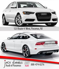 JACK DANIELS AUDI OF PARAMUS IS  LOCATED JUST MINUTES FROM THE GARDEN STATE MALL. COME IN TODAY AND FIND YOUR DREAM CAR! #JACKDANIELSAUDIPARAMUS #AUDI #AUDIA6 #AUDIRS7 #AUDIUSA