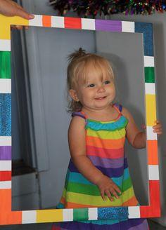Rainbow Birthday Girl :)