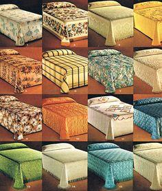 vintage bedspreads