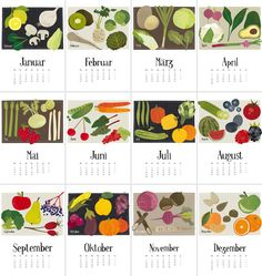 Kalender. anmutig.