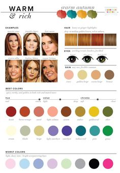 Find out how to pick your best and worst colors. Do you have warm undertones?…