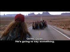 """Forrest Gump - Run Scene--""""My Mama always said you have to put the past behind you before you can move on"""""""