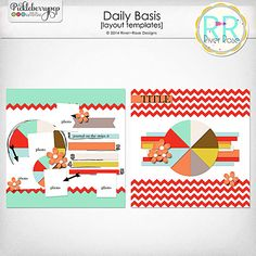 Daily Basis Templates by River~Rose