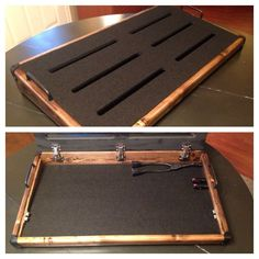 16x32 Signature Pedalboard (Wood Stain)