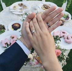 Everything is better together <3 Featured Style: MR1681 #SimonGJewelry Photo: @hello_Carmen