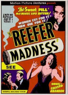 Reefer Madness #Vintage #poster #marijuana