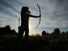 Turn an old cross-country ski into a recurve bow!