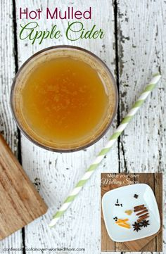 Hot Holiday Drinks | Mulled Apple Cider Recipe