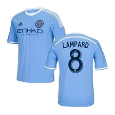adidas Youth  NYCFC Lampard #8 Soccer Jersey (Home 2015/16)