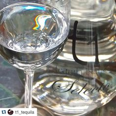 """#Repost @t1_tequila with @repostapp. ・・・ Selecto is more like my memory of old-fashioned Mexican tequila, says Gonzalez. I sort of created it for myself, because that is the way I like my tequila."""" German discusses his tequilas with @liquordotcom."""