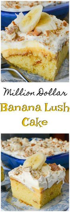 Banana Pudding Lush Cake!