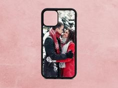 Personalized phone case with any picture you want. Complete your order and send your photo. Some ideas: you could send your picture, a photo of your pet, family or friends, music idol, logo, aesthetic photo...  Perfect gift for christmas, thanksgiving, birthday for men, women or friends.  ✅ABOUT THE